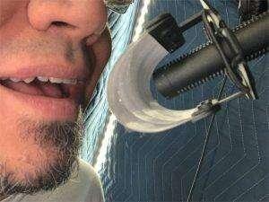 Joshua Alexander Voice Actor Voiceover Talent Artist Sennheiser Microphone