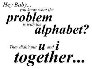 alphabet problem